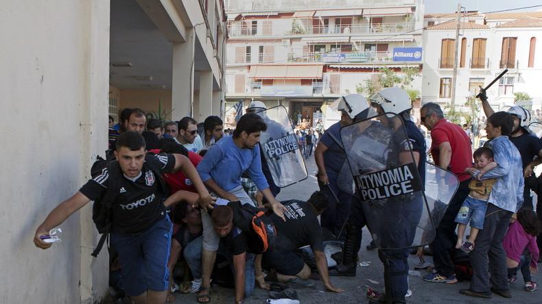 Protest auf griechischer Insel Kos gegen Flüchtlingszentrum eskaliert