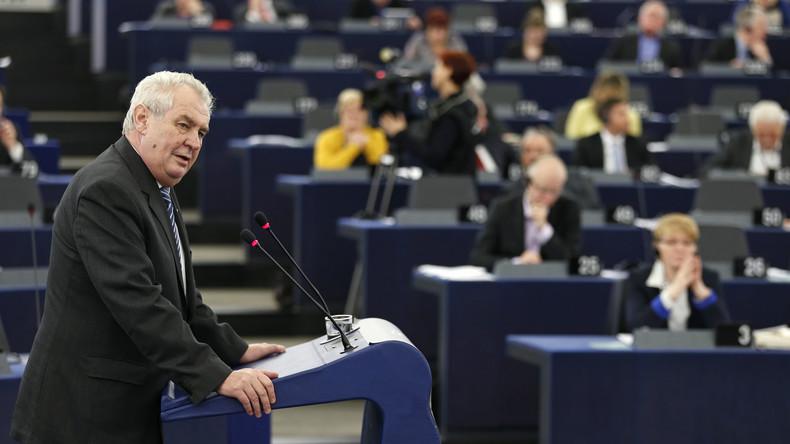 Tschechischer Präsident: Anti-russische Sanktionen müssen sofort aufgehoben werden