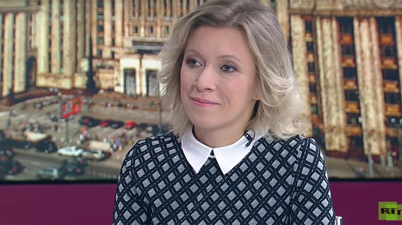 Russische Außenamtssprecherin im RT-Interview zu Syrien und westlicher Berichterstattung
