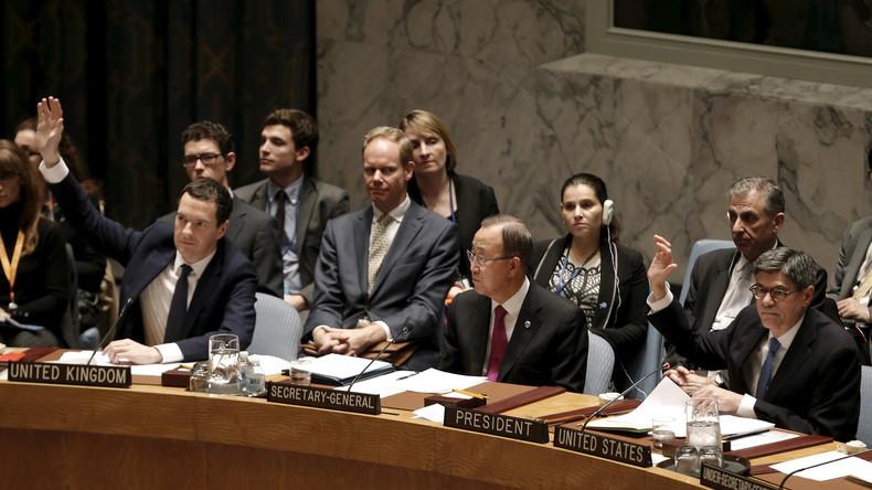 """Sicherheitsrat """"besorgt"""" über türkische Angriffe auf Syrien"""
