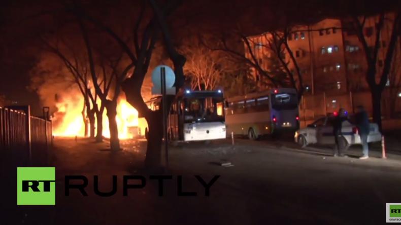 Türkei: Schwere Explosion trifft Regierungsviertel in Ankara und tötet mindestens 28 Menschen