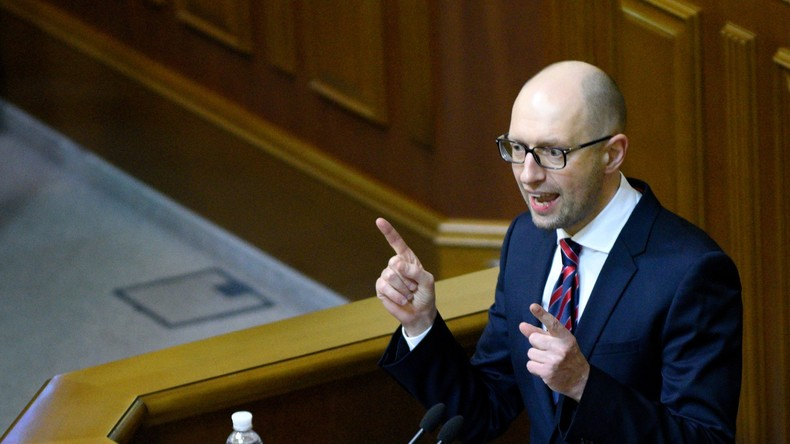 """US-Soziologe über Jazenjuk: """"Sein Regierungskurs ist eine wahre Katastrophe für die Ukraine"""""""