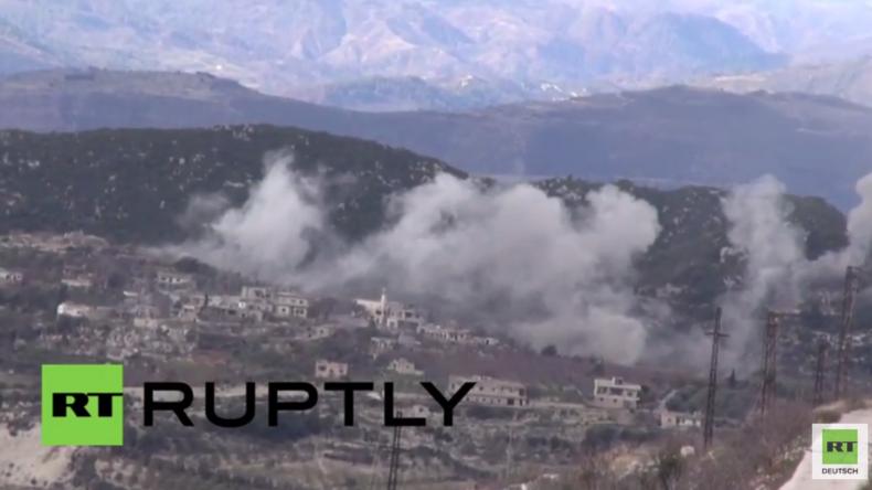 Syrien: Syrisch Arabische Armee erobert letzte militante Hochburg in der Provinz von Latakia