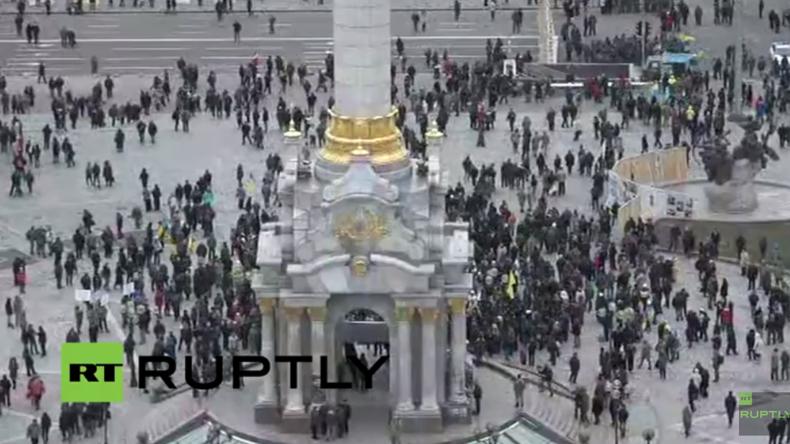 Live aus Kiew: Maidanmorde jähren sich zum zweiten Mal