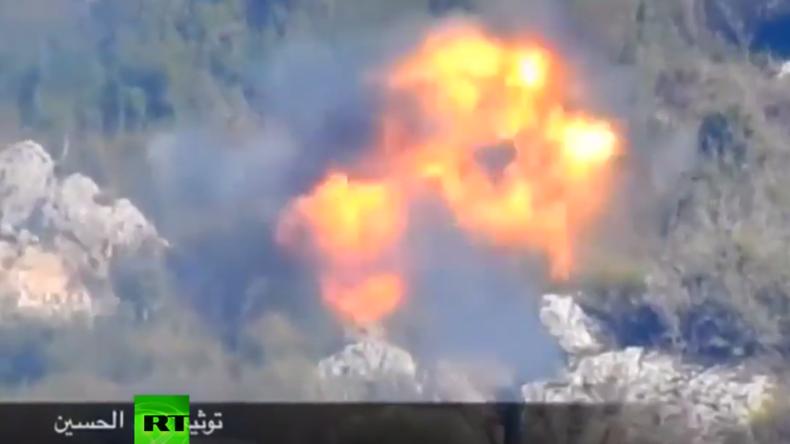 Syrien: Panzerabwehr-Raketen gegen Dschihadisten im Kampf um letzte Terroristen-Stadt in Latakia