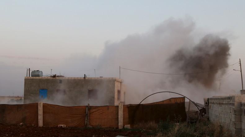 Krieg in Syrien: Kurdische Milizen stehen vor Grenzstadt Azaz