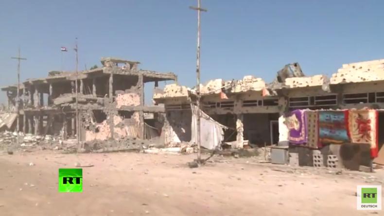 RT-Exklusiv: Hässliche Narben des Krieges und der Verwüstung: RT Crew filmt in Falludscha und Ramadi