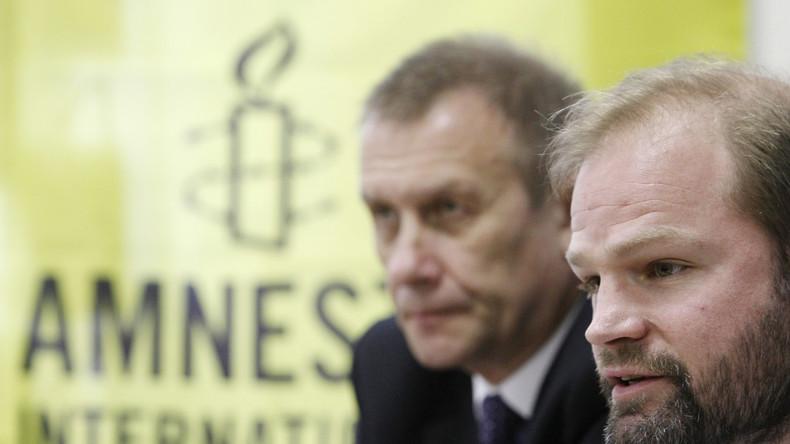 """Amnesty International: """"Es ist sehr gefährlich, in der Ukraine pro-russische Ansichten zu äußern"""""""