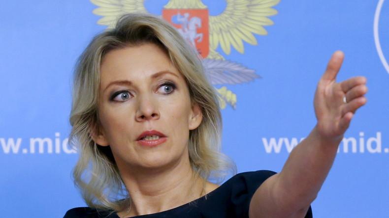 """Maria Sacharowa: """"USA versuchen, nicht nur Russland, sondern auch die EU einzudämmen"""""""