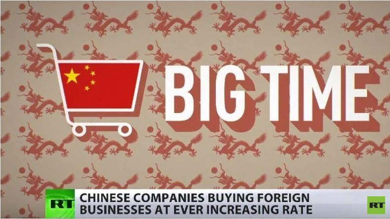 Chinas Einkaufsbummel in den USA: Massive Firmenaufkäufe während der US-Krise