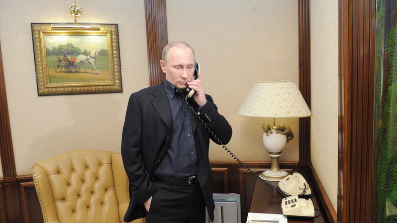 Wladimir Putin und Baschar al-Assad besprechen Waffenstillstand in Syrien