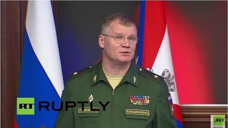 Russisches Verteidiungsministerium zur geplanten Waffenruhe und jüngste Operationen in Syrien