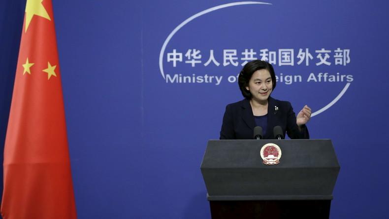 China kritisiert internationale Medien für tendenziöse Berichterstattung über Südchinesisches Meer