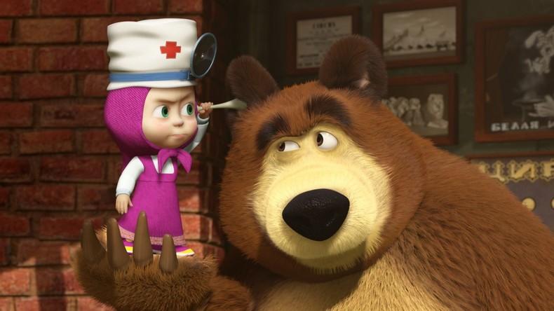 Making-of: Mascha und der Bär