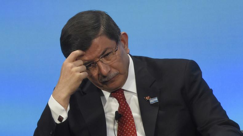 Türkischer Premier Davutoglu: Russland, IS und YPG arbeiten gemeinsam an Terrorgürtel gegen Ankara