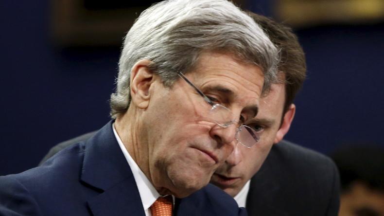 """Amerikanischer """"Plan B"""": Kerry redet von einer Spaltung Syriens"""