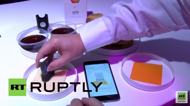 """Spanien: """"Was esse ich da eigentlich?"""" - Weltweit erstes Spektrometer im Taschenformat"""