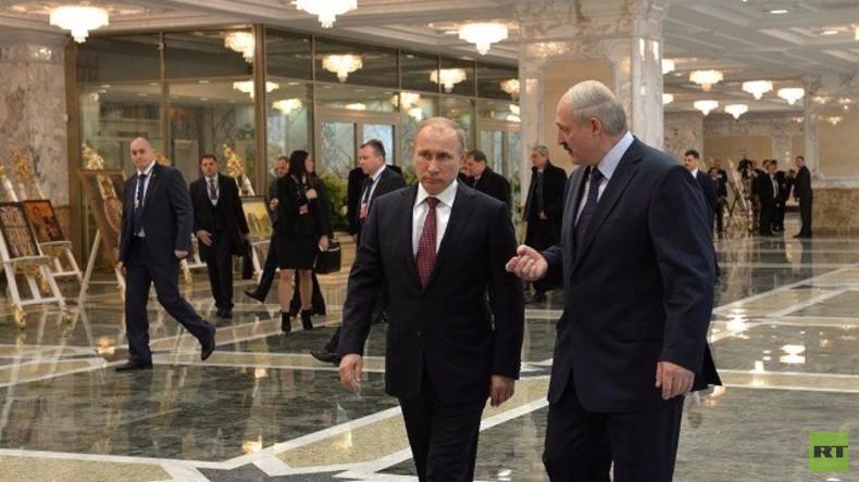 Live: Putin und Lukaschenko in Minsk - gemeinsame Pressekonferenz