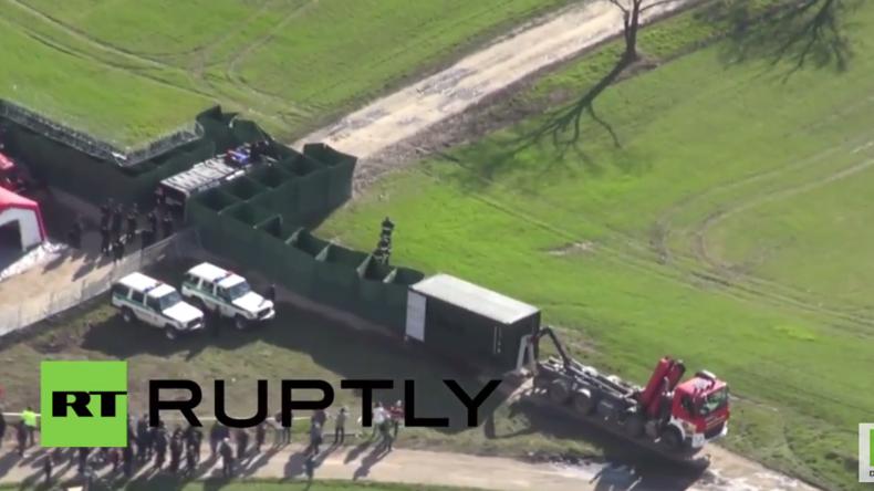 Die Slowakei probt den Ernstfall: Mobiler Grenzzaun ermöglicht Grenzsicherung binnen Minuten