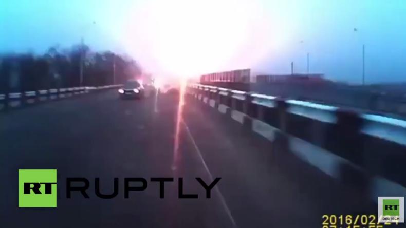 Donezk: Angeblicher Beschuss trifft Kontrollpunkt in Jasinowatskij