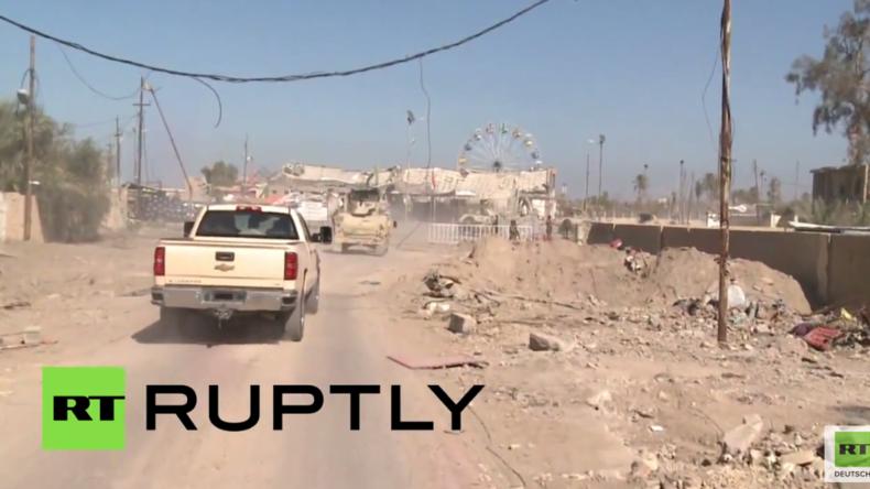 RT-Exklusiv: Spur der Verwüstung - Irakische Armee erobert Ramadi vom IS zurück