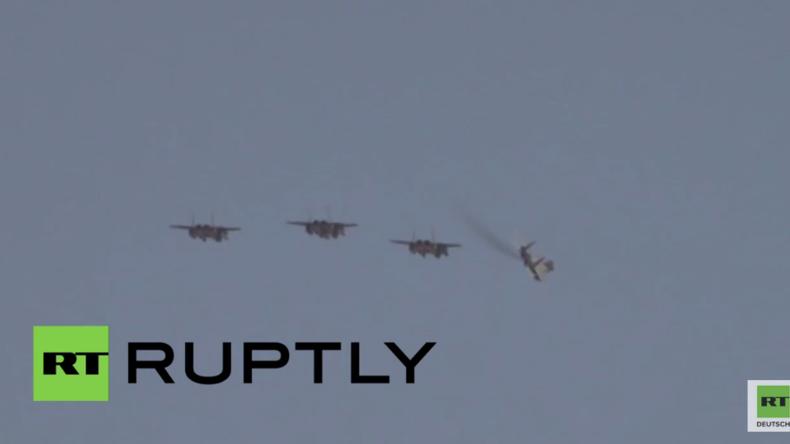Türkei: Saudische Kampfjets erreichen NATO-Stützpunkt nahe der syrischen Grenze
