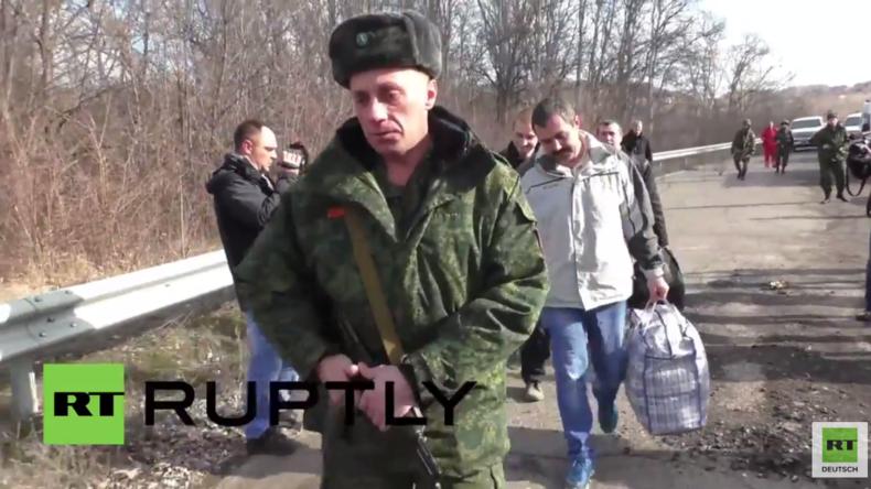 Ukraine: OSZE überwacht Gefangenenaustausch in der Region Lugansk
