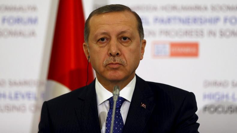 Mimose: Der türkische Präsident Erdogan reagiert äußerst sensibel auf öffentliche Missachtung ihm gegenüber.