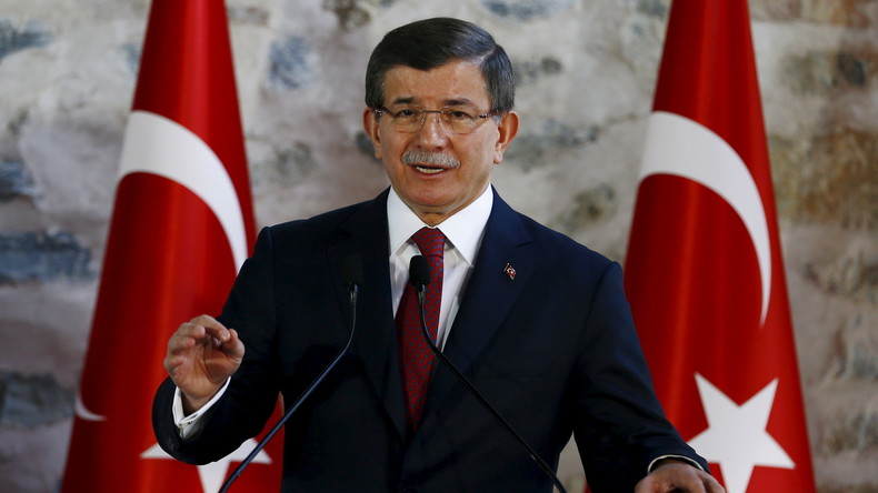 """Türkischer Premier Davutoğlu: """"Ohne uns wäre die Rebellenfront in Syrien längst zusammengebrochen"""""""