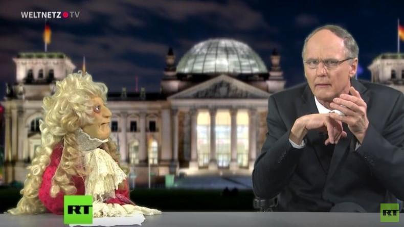 Exklusiv: Bundesfinanzminister Schäuble erklärt den Strom der IS-Finanzen