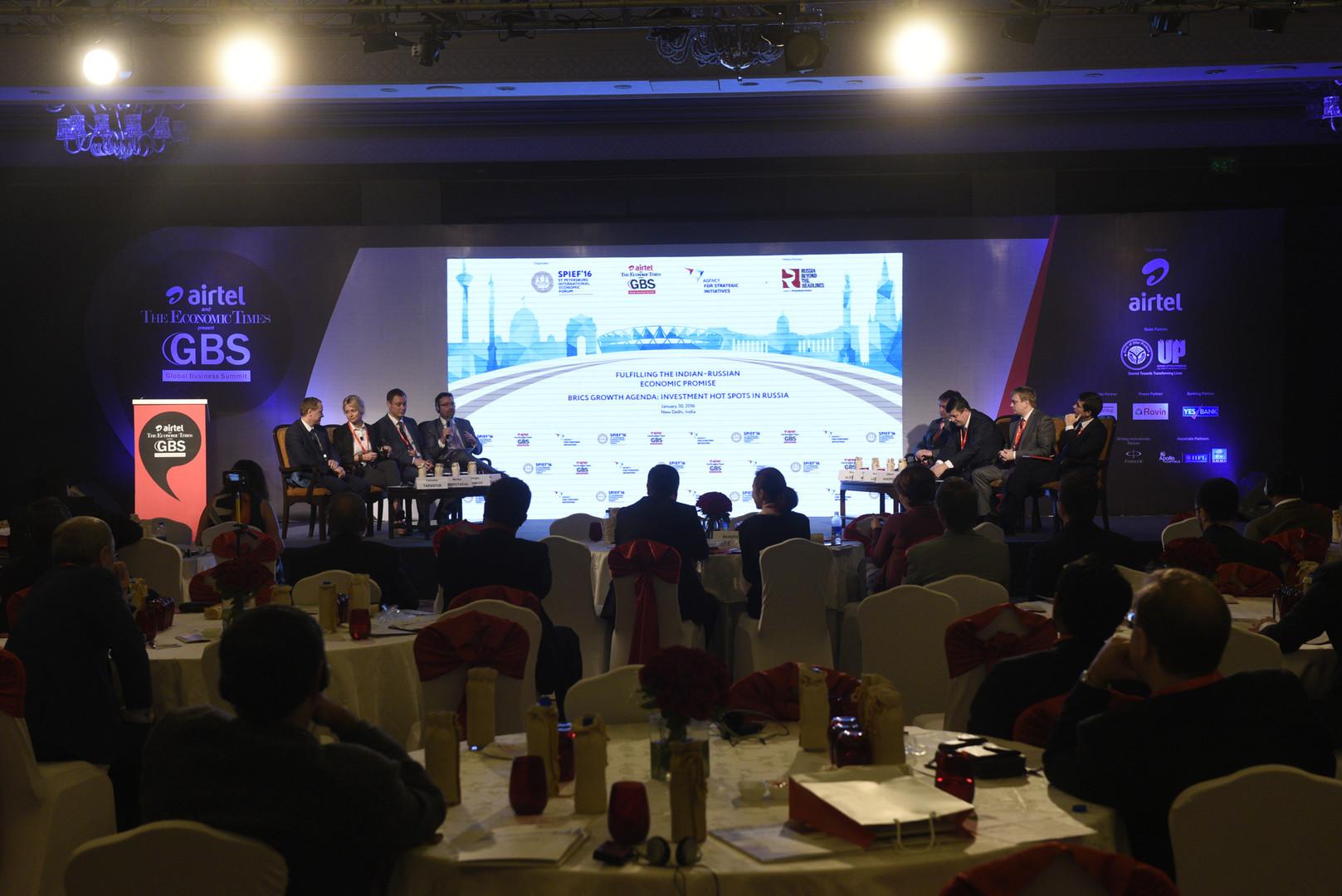 """Petersburger Wirtschaftsforum tagt in Indien zu """"Wachstumsagenda der BRICS"""""""