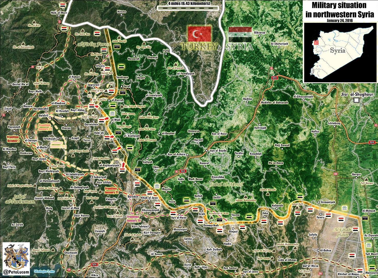 Syrische Armee schneidet Rebellen von strategischer Versorgungslinie in die Türkei ab