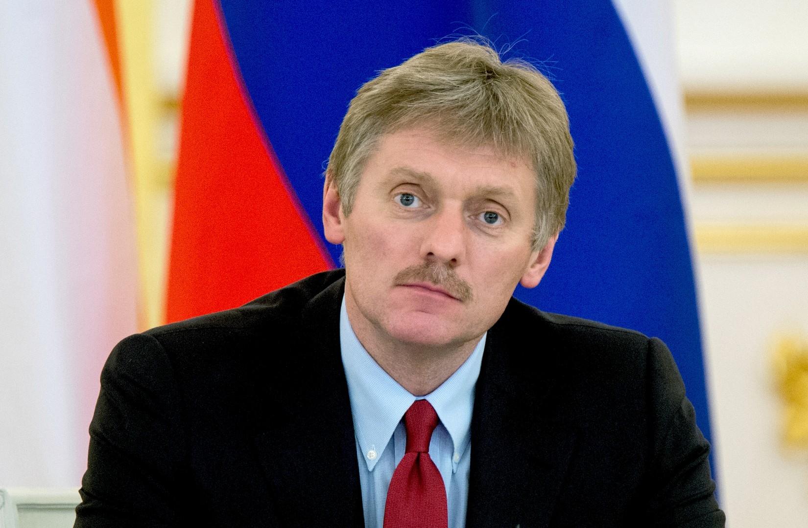 Pressesprecher des russischen Präsidenten, Dimitri Peskow