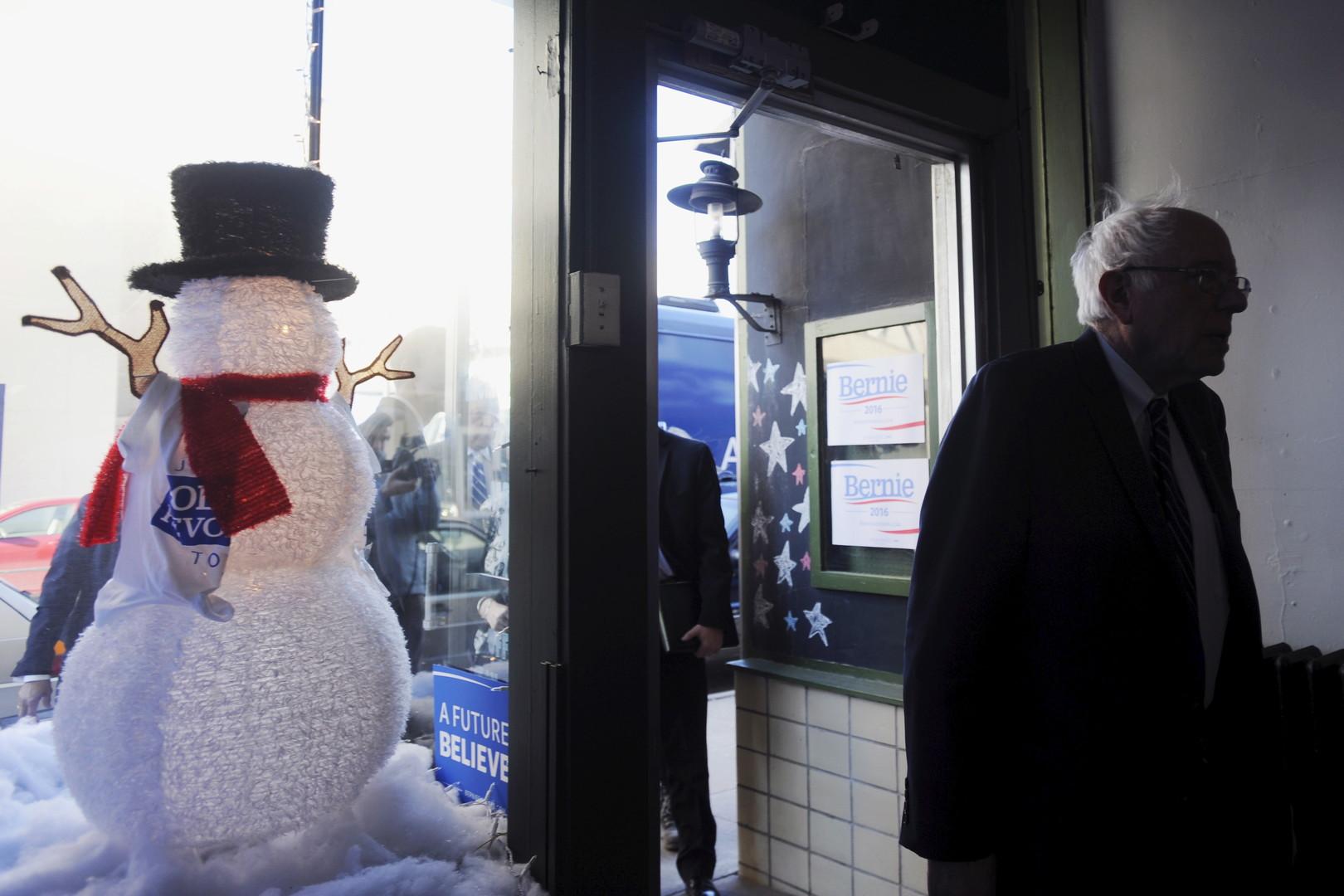 60 Prozent: Bernie Sanders räumt in New Hampshire ab