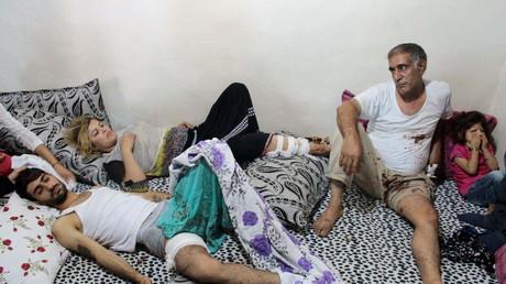 Verwundete Einwohner in der südöstlichen Stadt Cizre haben teilweise seit Wochen keinen Zugang zu medizinischer Infrastruktur