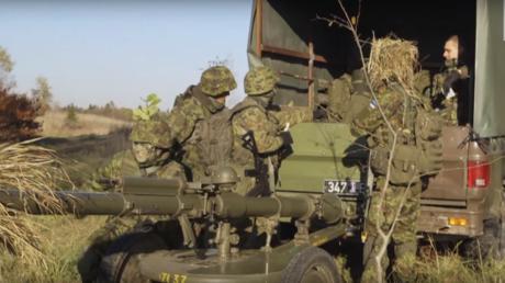 "Die paramilitärische Freiwilligenmiliz ""Estonian Defence League"