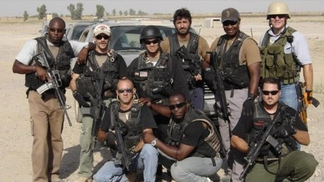 Da lächelten sie noch in die Kamera: Blackwater-Söldner im Jemen