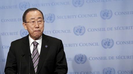 Fühlt sich falsch wiedergegeben: UN-Generalsekretär Ban Ki-Moon