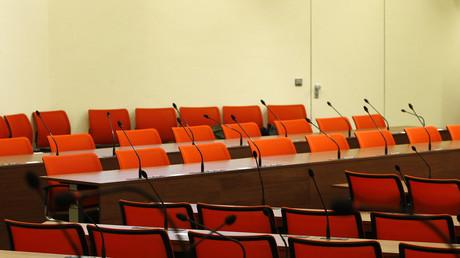 Die Zeugenbank im NSU-Prozess