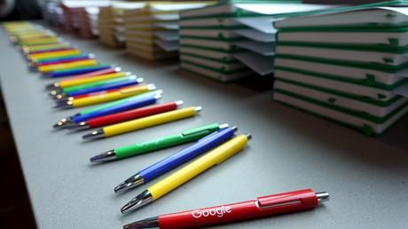 Gut schreiben dank Google - Ob es auch ein Set Kugelschreiber für die Tagesspiegel-Redaktion gab?