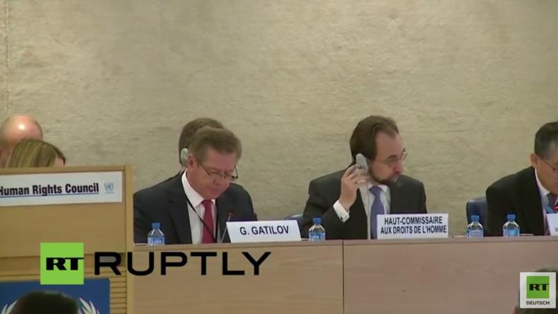Live: Russischer Vize-Außenminister spricht auf der 31. Tagung des UN-Menschenrechtsrats in Genf