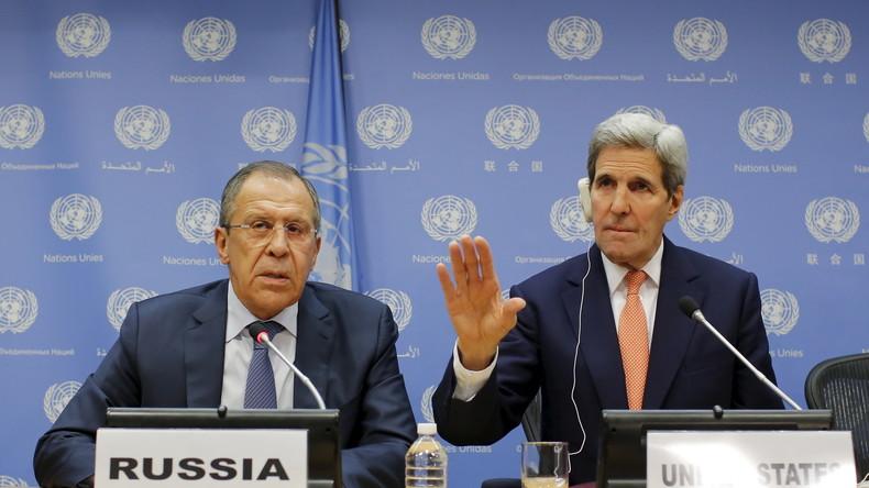 """John Kerry: """"Russland und USA haben System zur Überwachung des Waffenstillstandes etabliert"""""""