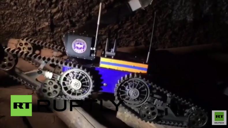 Russland: EMERCOM setzt Roboter ein, um nach der Minenexplosion in Workuta  zu helfen