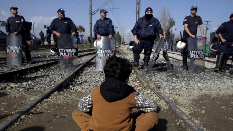 Europas Versagen: Flüchtlingssturm auf Grenze von Mazedonien