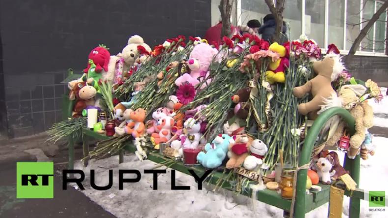 """""""Unglaublich grausamer Mord"""" - Moskauer trauern um geköpftes vierjähriges Mädchen"""