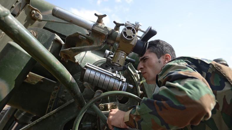 Russland verurteilt türkische Militäroperationen an der syrischen Grenze