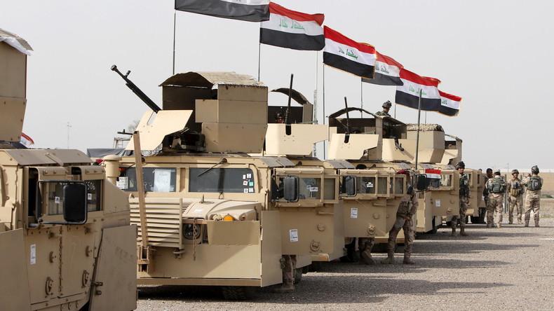 Irakische Armee startet Offensive gegen Daesh (IS) bei Samara