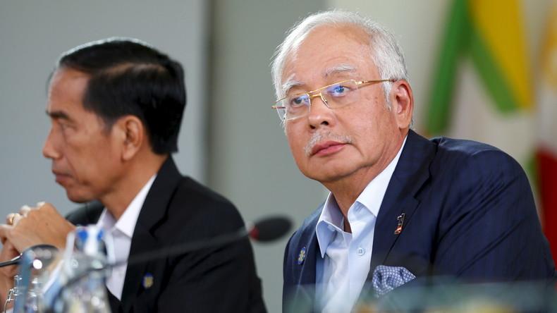 Korruptionsaffäre in Malaysia: Premierminister hat eine Millarde Dollar auf Privatkonto