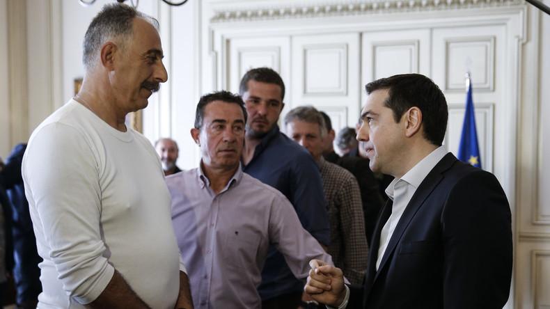 """Tsipras: """"Griechenland nicht alleine lassen - Flüchtlingskrise eine Aufgabe für alle EU-Staaten"""""""
