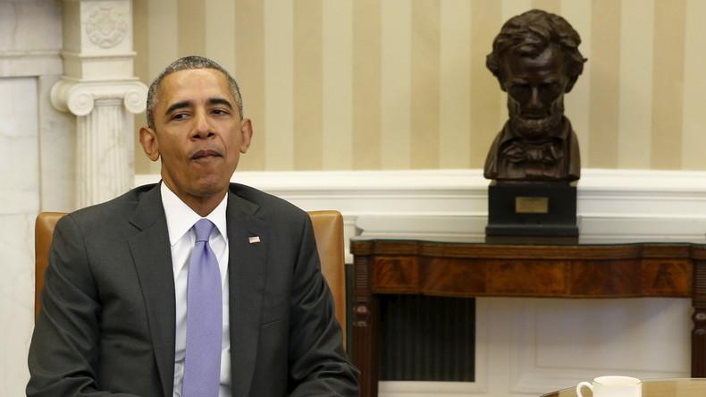 Obama: USA werden weiterhin an Sanktionen gegen Russland festhalten und diese um ein Jahr verlängern